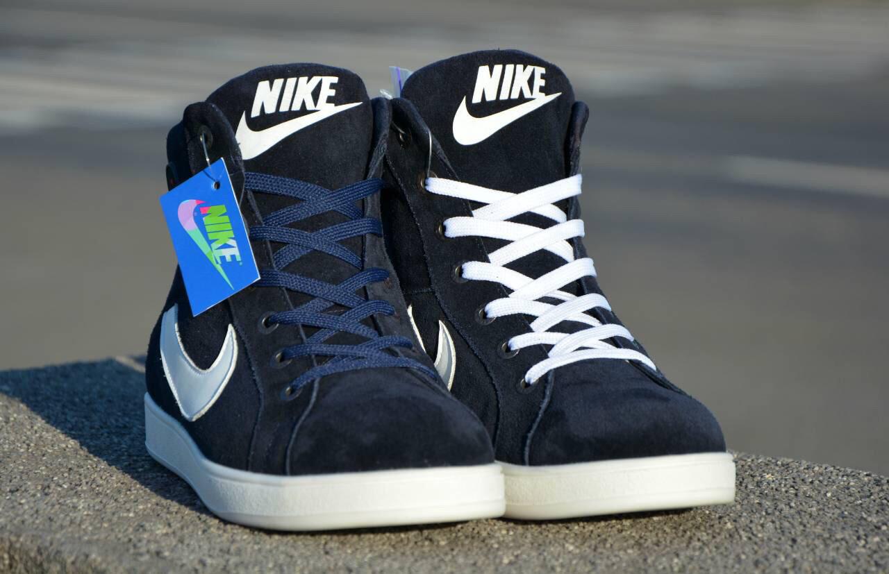 de309f64b2df Nike Jordan зимние кроссовки синие  продажа, цена в Днепре. ботинки ...