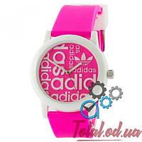 Adidas White-Pink Silicone