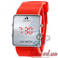Adidas Led Watch Red-Silver