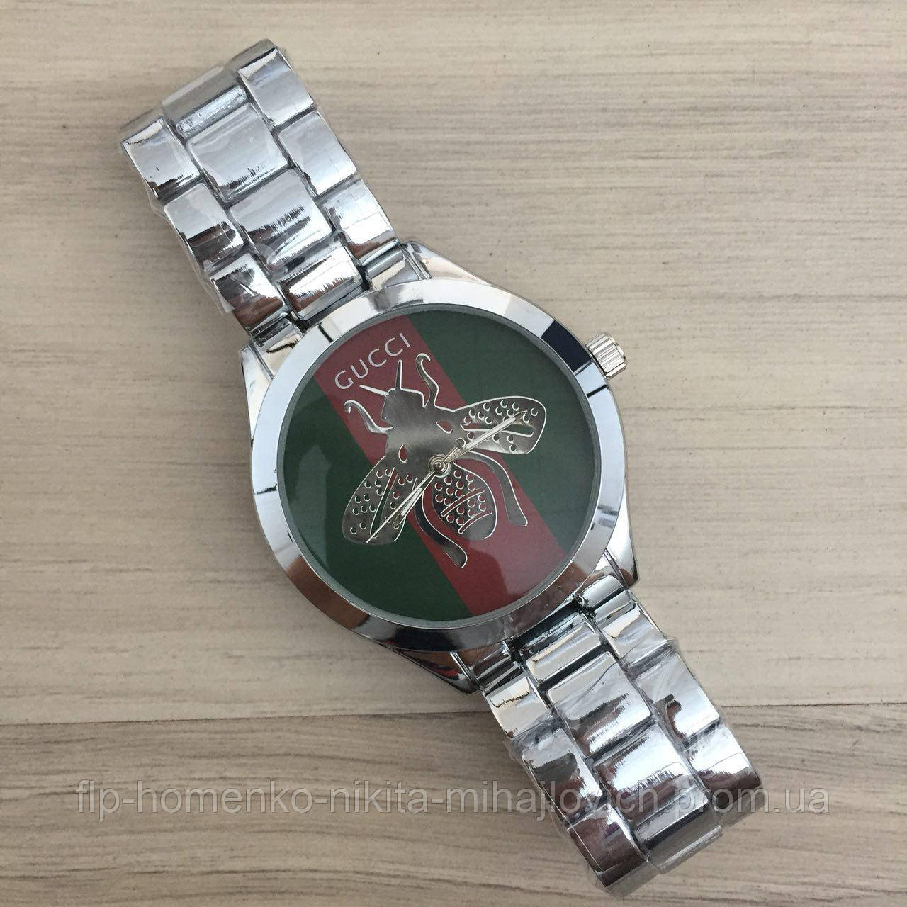 4b87ff0a Gucci 6239 Silver-Green-Red — в Категории