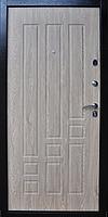 Входная металлическая дверь МДФ/МДФ ТМ «КОРДОН» Стандарт, модель 95 (венге/карпатская ель)
