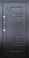 Входная металлическая дверь МДФ/МДФ ТМ «КОРДОН» Стандарт , модель 96 (венге)
