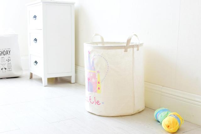 корзина для игрушек для девочки