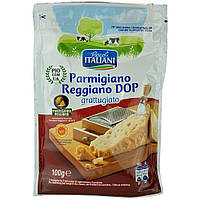 Сыр Пармезан Рascoli Italiani Parmigiano Reggiano DOP(тертый) 100 г