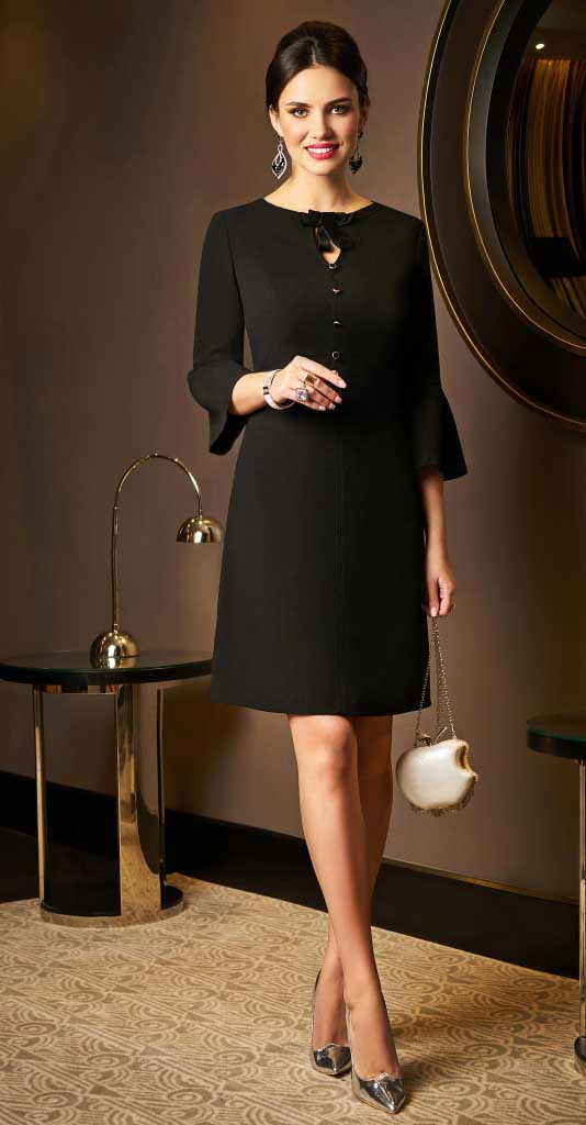 Платье Lissana-3282/1 белорусский трикотаж, черный, 50