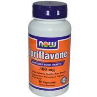 Иприфлавон 300 мг 90 капс  лечение и профилактика  остеопороза, переломы   Now Foods USA