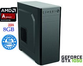 Игровой компьютер NG A8 x4 9600 D1 4-ядра 3.1-3.4GHz(AMDA8 x4 9600/DDR4-8Gb/HDD-1Tb/ GTX1050)
