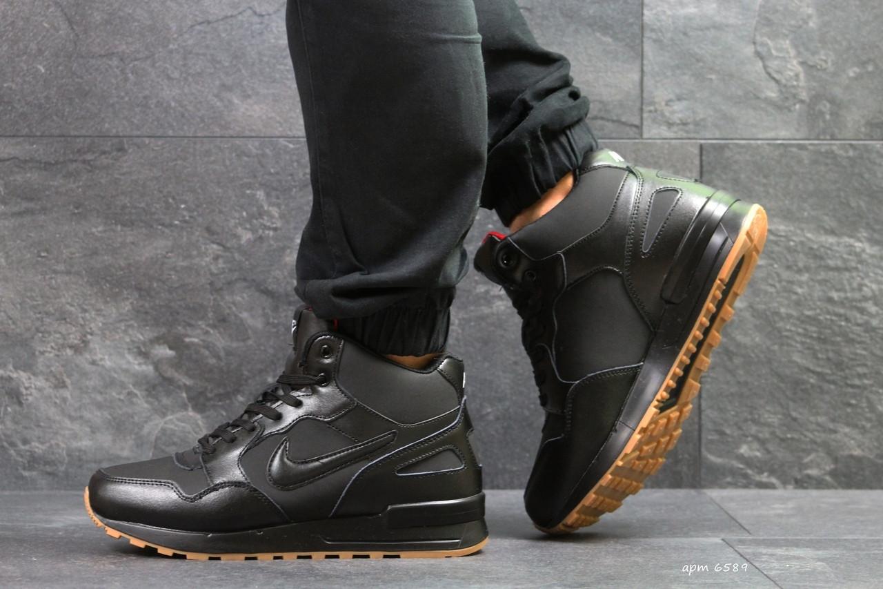 Кроссовки NIKE  высокие мужские ботинки.ТОП КАЧЕСТВО!!!  Реплика