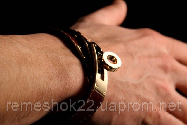 c9c2166bc5d6 Браслет-ремень на руку.Hermes Kelly Double Tour Leather Bracelet, ...