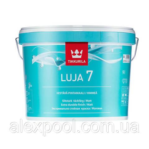 Luja 7 акрилатна фарба інтер'єрна Фарба для стін і стель А 0,9 л