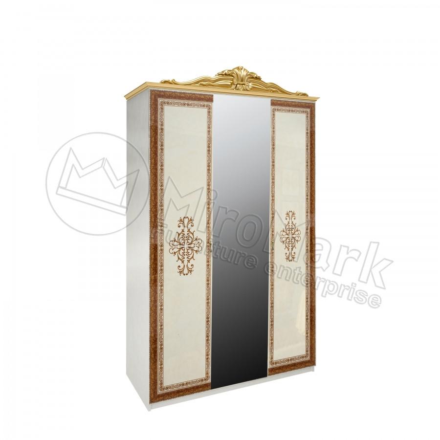 Шкаф Дженифер 3Д с зеркалом Миро-Марк