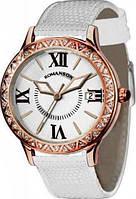 Часы женские Romanson RL1222QLRG WH