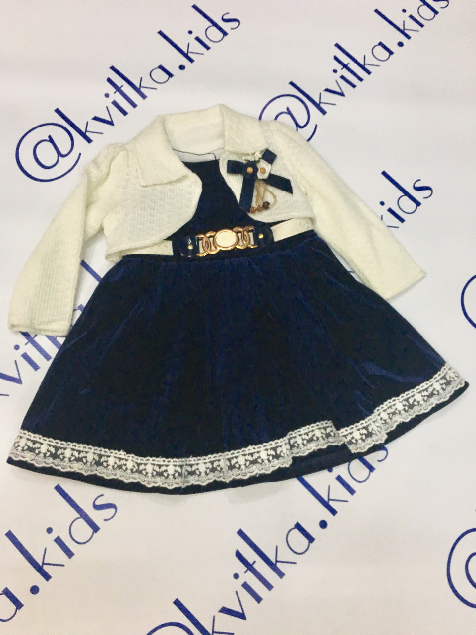 Платье на девочку размер 80 см