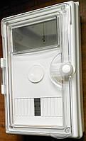 Щит универсальный для одно-трехфазных электросчетчиков  наружной установки пластиковый герметичный