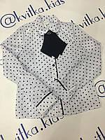 Блуза на девочку размер 122-158 см