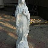 Скульптура Божьей Матери 115 см бетон №110, фото 2