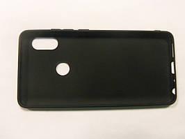 Чехол силиконовый  для Xiaomi Redmi Note 5 Pro  черный