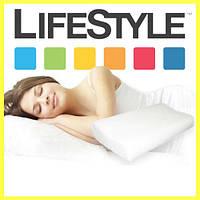 Подушка ортопедическая Memory Pillow, подушка Memory Pillow с эффектом памяти, анатомическая подушка для сна, фото 1