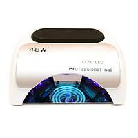 CCFL+LED Лампа для маникюра Professional 48W Белая