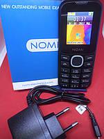 Кнопочный телефон Nomi i184 DualSim/Фонарик/Bluetooth/500 мАч ГАРАНТИЯ 12 МЕСЯЦЕВ