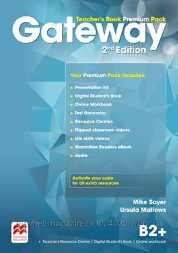 Gateway 2nd Edition B2+ Teacher's Book Premium Pack ISBN: 9780230473225