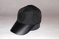 Бейсболка мужская утеплённая STEFANO RICCI 155-18 чёрная, фото 1
