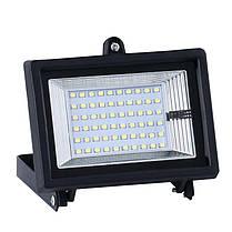 Светодиодные уличные прожектора на солнечной батарее SL383В 2х24W IP65 Код.59374, фото 3
