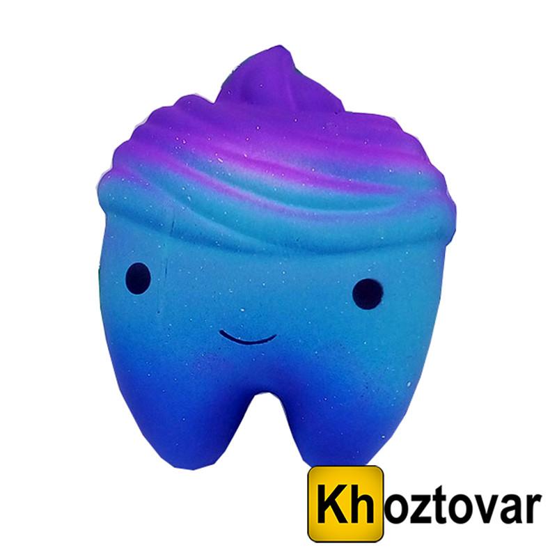 """Анти-стресова іграшка сквиш """"Зуби великі"""""""