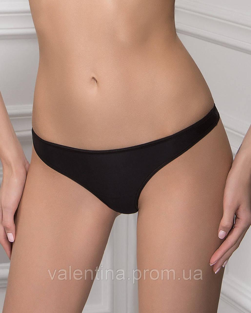 bedd627aff6f9 Трусики-стринги из хлопка Venus, черный, S/44, цена 89 грн., купить ...
