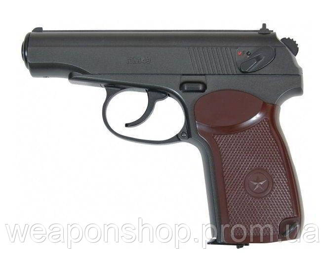 Пневматический пистолет Borner PM49 Пистолет Макарова ПМ газобаллонный CO2 120 1