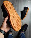 Кроссовки Adidas Hamburg (черно-желтые), фото 2