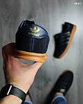 Кроссовки Adidas Hamburg (черно-желтые), фото 3