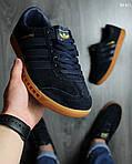 Кроссовки Adidas Hamburg (черно-желтые), фото 4