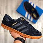 Кроссовки Adidas Hamburg (черно-желтые), фото 6