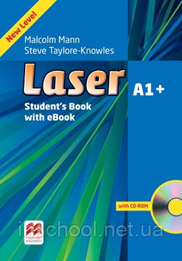 Laser 3rd edition A1+ Student's Book + eBook Pack ISBN: 9781786327123