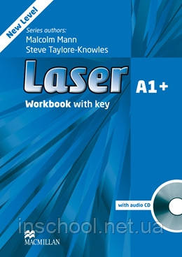 Laser A1+ Third Edition Workbook with Key and CD Pack ISBN: 9780230424616, фото 2