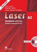Laser A2 Third Edition Workbook with Key and CD Pack ISBN: 9780230424746