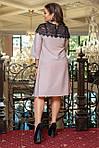 """Элегантное платье свободного силуэта платье люрекс женское большие размеры """"Шик"""", фото 5"""