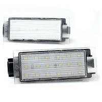 Штатная LED Подсветка номера RENAULT Megane 2-3,Laguna 2-3,Clio 2-3, Espace 4