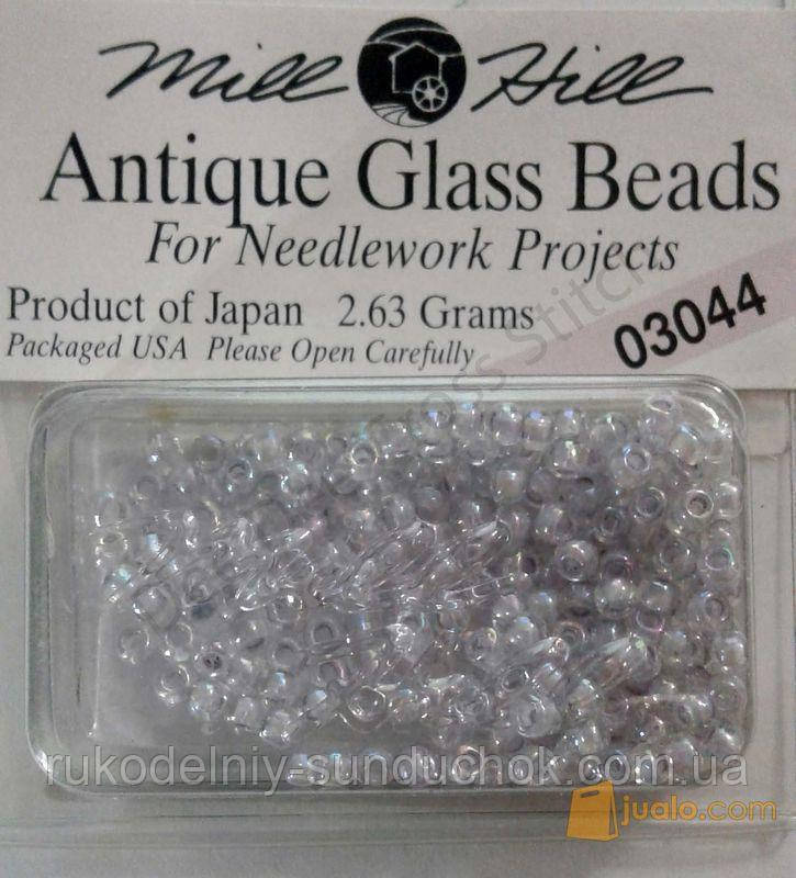 03044 бисер Mill Hill, 11/0 Crystal Lilac Antique Glass Beads