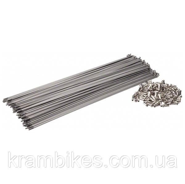 Спица 286мм Shimano WH-R600 Front Серебро