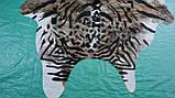 Красивейшая коровья шкура крашенная под бенгальского тигра, фото 4