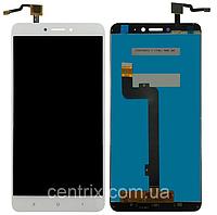 Дисплей (экран) для Xiaomi Mi Max /Mi Max Pro/Mi Max Prime + тачскрин, белый