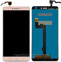 Дисплей (экран) для Xiaomi Mi Max /Mi Max Pro/Mi Max Prime + тачскрин, золотистый