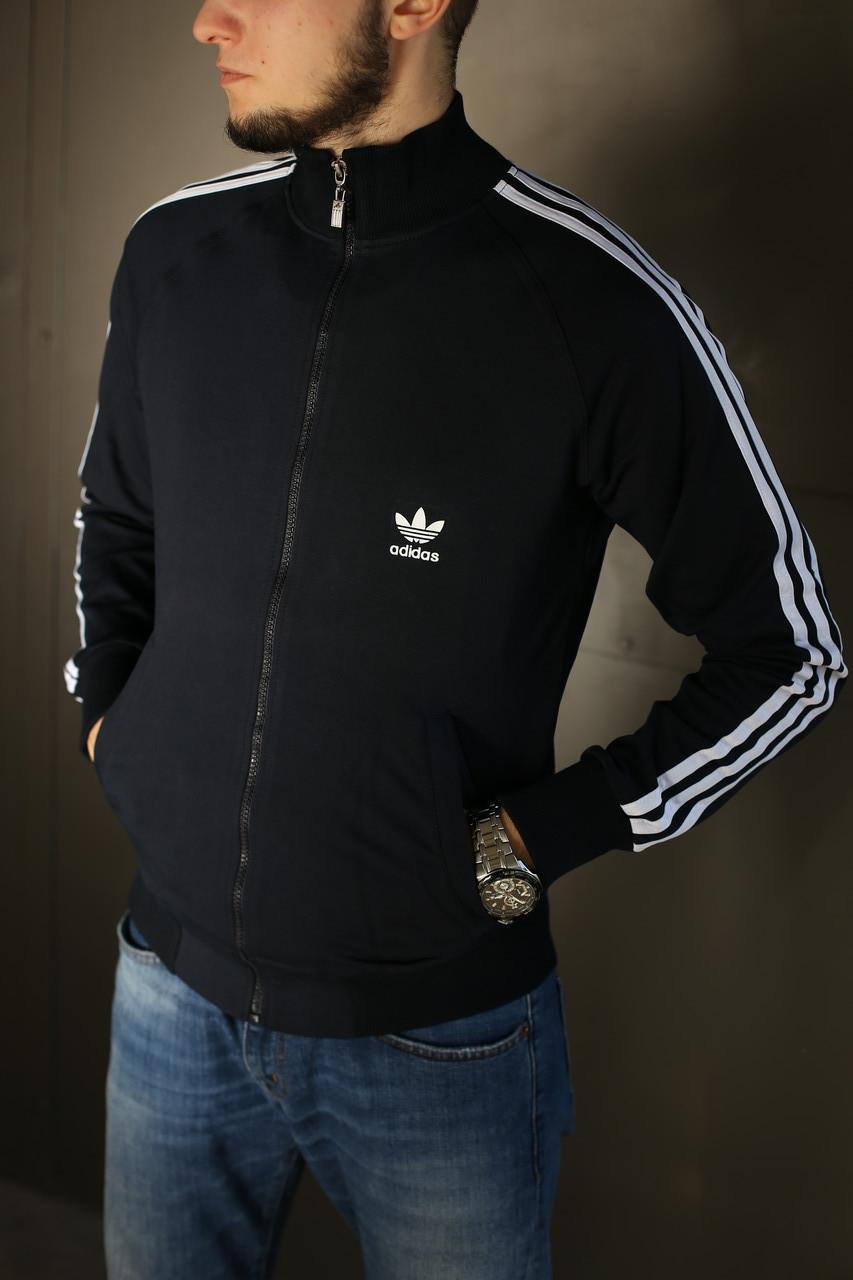 Кофта мужская Adidas. Темно синяя