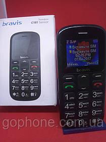 Мобильный телефон BRAVIS C181 Батарея 800 мАч/DualSim/ ГАРАНТИЯ ГОД!