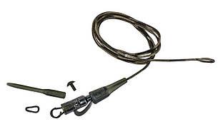 Оснастка карповая Prologic Safety Clip QC Link Hollow Leader 80 cm 45 lbs 3 pcsОснастка карповая Prologic Safety Clip QC Link Hollow Leader 80 cm 45