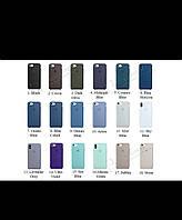 Силиконовый чехол для IPhone Silicone Case 5/SE/6/7/8/Plus/X айфон, фото 1