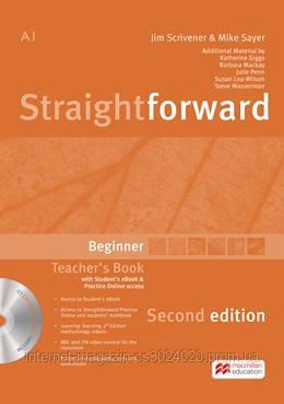 Straightforward 2nd Edition Beginner + eBook Teacher's Pack ISBN: 9781786327604