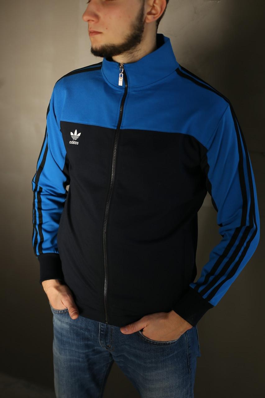 Кофта мужская Adidas. Синяя